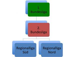 Ligastruktur des DFB in der Saison 2000/2001