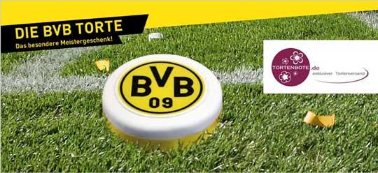 tortenbote.de - Lizenzpartner von Borussia Dortmund