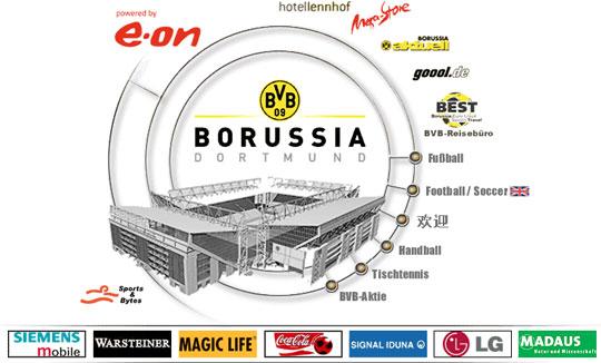 Homepage Borussia Dortmund 25.11.2002