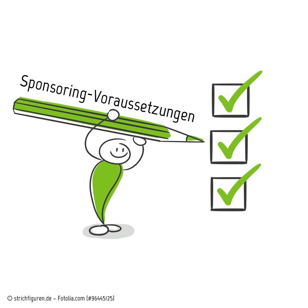 Sponsoring-Voraussetzungen in Unternehmen